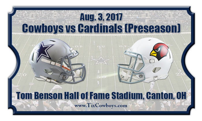 2017 Cowboys Vs Cardinals Preseason