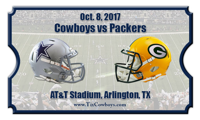 2017 Cowboys Vs Packers