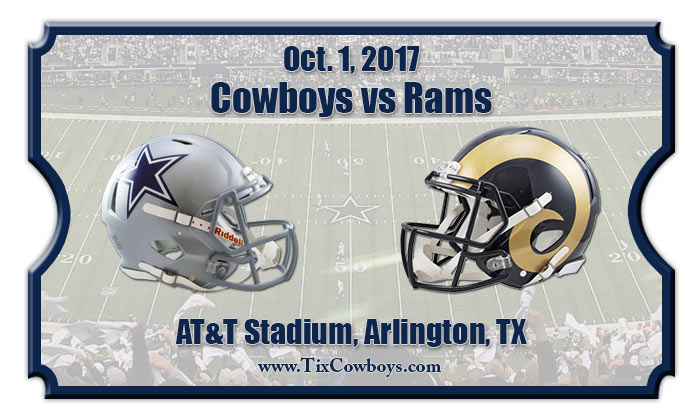 2017 Cowboys Vs Rams