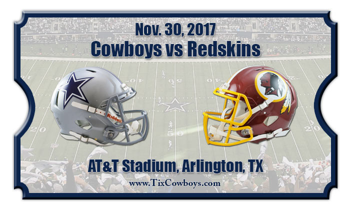 2017 Cowboys Vs Redskins2